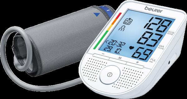 Beurer sprechendes Oberarm-Blutdruckmessgerät BM 49