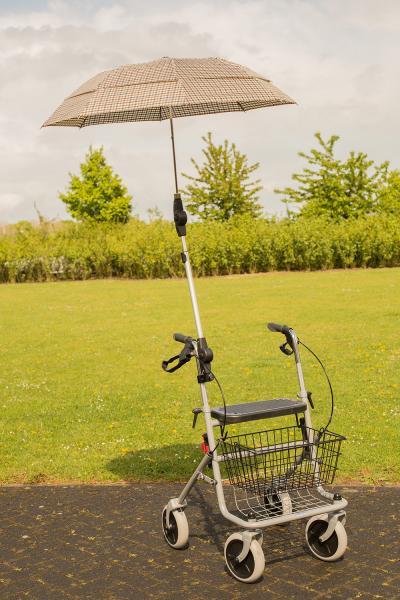 Regenschirm zum Rollator Standard