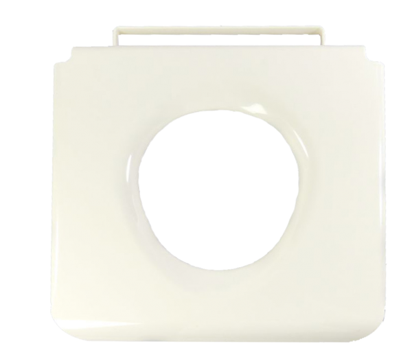 Toilettenstuhlsitzbrille Kunststoff weiß Ortopedia (HCDA)